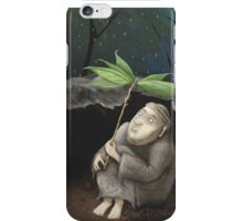 He shelters from the Rain iPhone Case/Skin