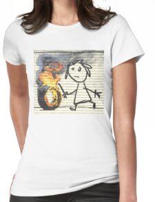 Banksy Bristol School Womens Fitted T-Shirt