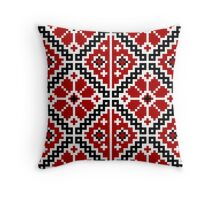 Ukrainian embroidery Throw Pillow