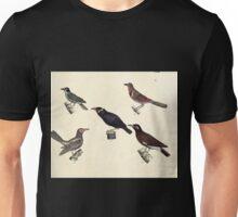 Naturgeschichte in Bildern mit erläuterndem Text E Strack 1820 Lief 2 Birds 058 Unisex T-Shirt