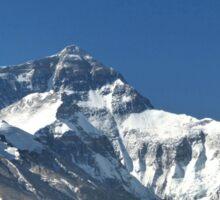 Mount Everest, highest peak in the world Sticker