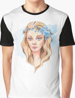 Girl with blue eyes  Graphic T-Shirt