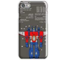 Transformers Patent - Colour iPhone Case/Skin