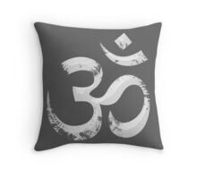 Painted Ohm Symbol Throw Pillow