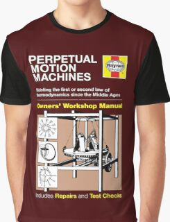 Haynes Manual - Perpetual motion machines - T-shirt Graphic T-Shirt