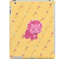 Dinamic Girls Collection - Girl Dinosaur Design iPad Case/Skin