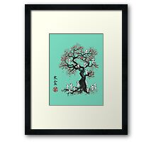 Forest Spirits Sumi-e Framed Print