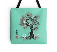 Forest Spirits Sumi-e Tote Bag