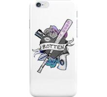 Harley Quinn Rotten Sticker iPhone Case/Skin
