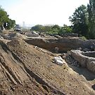 Restoration of Roman Buildings Found in the Banks of the Danube by Dennis Melling