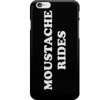 Moustache Rides iPhone Case/Skin