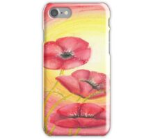 Poppies for Rememberance day iPhone Case/Skin