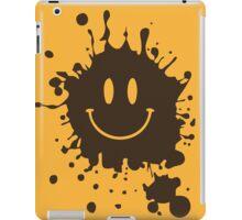 Muddy Smiley Face iPad Case/Skin