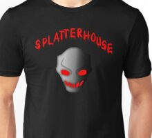 Splatterhouse 3 Terror Mask With Title Unisex T-Shirt