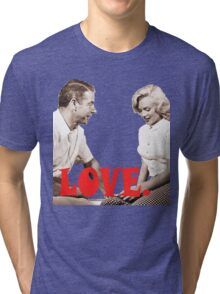 Retro Love. Marilyn & Joe Tri-blend T-Shirt