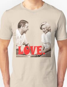 Retro Love. Marilyn & Joe Unisex T-Shirt