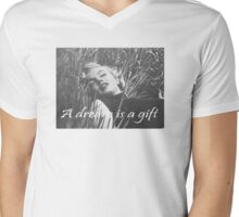 A Dream is a Gift Marilyn  Mens V-Neck T-Shirt