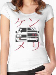 Nissan Skyline Kenmeri Women's Fitted Scoop T-Shirt