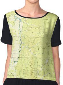 USGS TOPO Map Alabama AL Bishop 303256 1936 24000 Chiffon Top