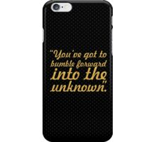 """You've got to bumble... """"Frank Gehry"""" Inspirational Quote iPhone Case/Skin"""