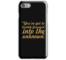 "You've got to bumble... ""Frank Gehry"" Inspirational Quote iPhone Case/Skin"
