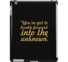 "You've got to bumble... ""Frank Gehry"" Inspirational Quote iPad Case/Skin"