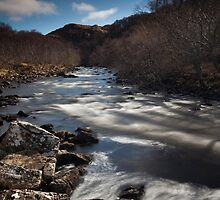 river kirkaig by codaimages