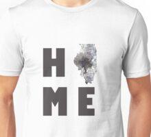 "ILLINOIS ""HOME"" Unisex T-Shirt"