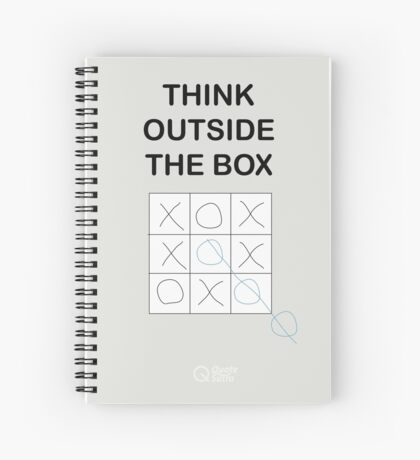 Think Outside the Box Spiral Notebook