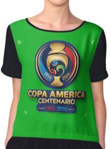 Copa America 2016 Chiffon Top