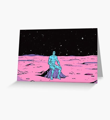 The Watchmen - Dr Manhattan Greeting Card