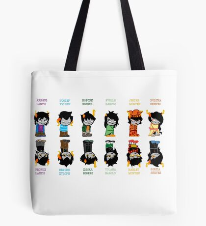 Homestuck Trolls Tote Bag