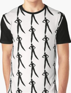 Formated Figure  Graphic T-Shirt