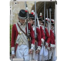 Soldiers Marching iPad Case/Skin