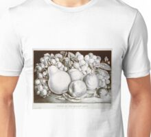 Fruits of the golden land - 1871 - Currier & Ives Unisex T-Shirt
