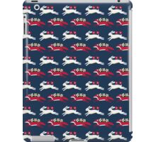 Hare and Fox Pattern iPad Case/Skin