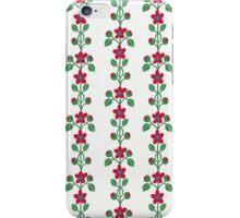 Flowers in Stripes iPhone Case/Skin