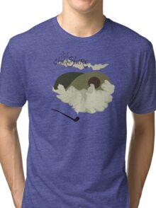 The Shire Vintage Travel Poster Tri-blend T-Shirt