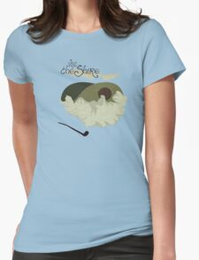 The Shire Vintage Travel Poster Womens Fitted T-Shirt