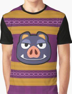 BORIS ANIMAL CROSSING Graphic T-Shirt