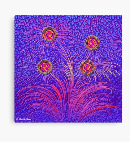 Abstract 30-wall  Art + Products Design  Canvas Print