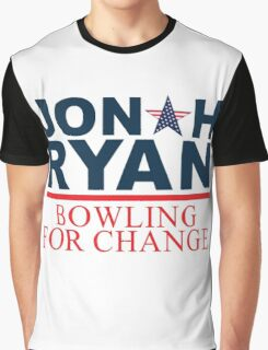 JR Bowling for change Graphic T-Shirt