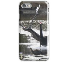 Clear The Runaway, The Cygnets Are Flying iPhone Case/Skin