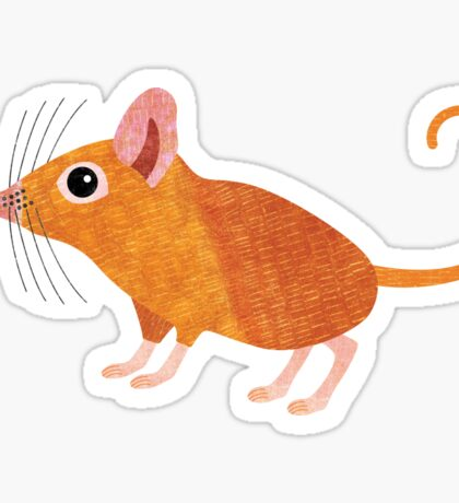 S is for Shrew (Elephant) Sticker