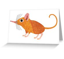 S is for Shrew (Elephant) Greeting Card