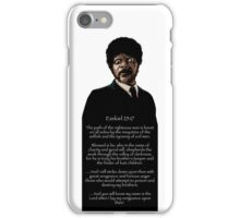 Samuel Jackson - Ezekiel Speech iPhone Case/Skin