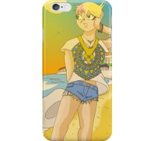 Raiden Legacy - Sunset Beach (Chill) iPhone Case/Skin