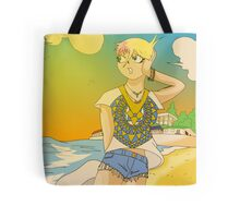 Raiden Legacy - Sunset Beach (Chill) Tote Bag