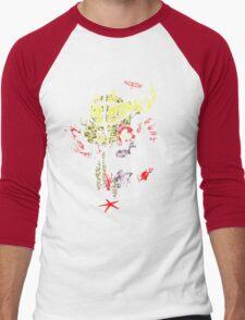 Daddy's Graffiti Men's Baseball ¾ T-Shirt
