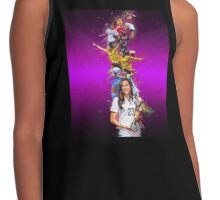 Christen Press collage Contrast Tank